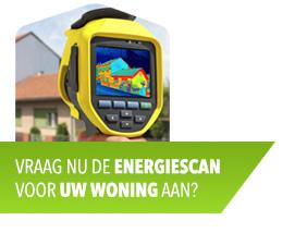 Vraag nu de energiescan voor uw woning aan